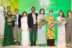 Hoa hậu Hoàn Vũ Việt Nam 2017 H'Hen Niê truyền cảm hứng tôn vinh tà áo dài Việt