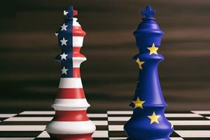 Hai bờ Đại Tây Dương đối diện cuộc thương chiến mới
