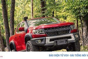 Chevrolet Colorado ZR2 Bison 2020 sẽ được nâng cấp và tăng sản lượng