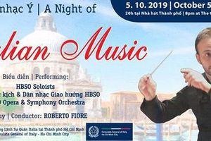 Chương trình Đêm nhạc Italy tại Thành phố Hồ Chí Minh
