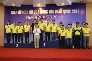 Chủ nhà TP.HCM 'thâu tóm' huy chương giải cờ vua đồng đội toàn quốc 2019