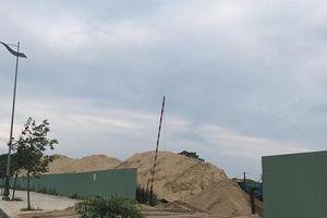 Quảng Ngãi: Tập kết cát sai quy định, 3 doanh nghiệp bị 'tuýt còi'