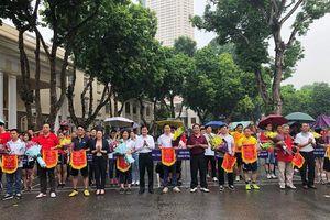 Trường Đào tạo cán bộ Lê Hồng Phong giành giải Nhất hội khỏe các cơ quan Đảng Thành ủy Hà Nội