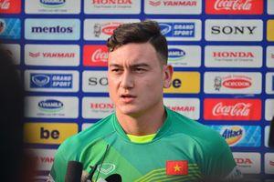 Thủ môn Đặng Văn Lâm tiết lộ về sự chuẩn bị cho trận đấu với ĐT Malaysia
