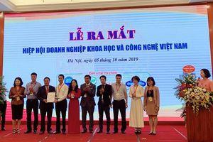 Ra mắt Hiệp hội Doanh nghiệp khoa học và công nghệ Việt Nam