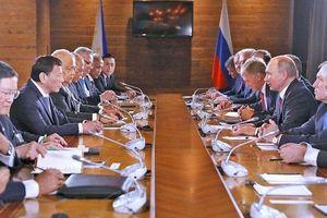 Tổng thống Philippines Duterte công bố nhiều ưu đãi đặc biệt đối với đối tác Nga