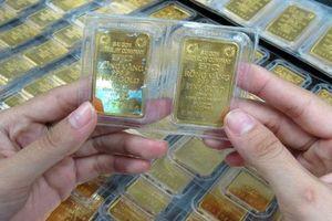 Giá vàng SJC giảm lần đầu trong 4 phiên