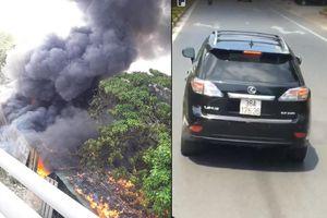 Tài xế Lexus chặn đường xe cứu hỏa: 'Tôi rất ân hận...'