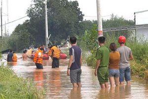 Bình Phước: Lũ lớn nhất trong 10 năm, sơ tán khẩn cấp hàng chục hộ dân
