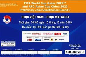 Đảm bảo an ninh trận đấu giữa Đội tuyển Việt Nam gặp Đội tuyển Malaysia