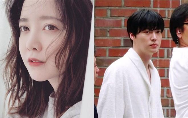 Loạt hình ảnh của Ahn Jae Hyun trên phim trường - Goo Hye Sun tiếp tục bị K-net chỉ trích khi chia sẻ bài viết mới