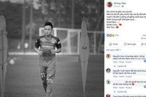 CĐV tiếc nuối khi Huy Toàn không được dự vòng loại World Cup 2022