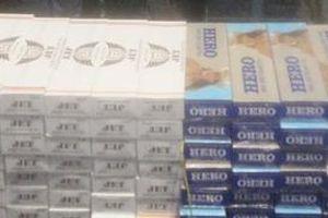 Sắp hầu tòa vì vận chuyển hơn 5.000 gói thuốc lá điếu