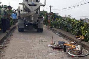 Va chạm với xe bồn, nam sinh lớp 4 tử vong trên đường tới trường