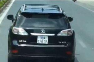 Xác minh chủ xe sang cản đường xe chữa cháy ở Nghệ An