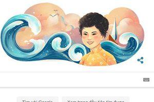 Nhà thơ Xuân Quỳnh được Google kỷ niệm 77 năm ngày sinh