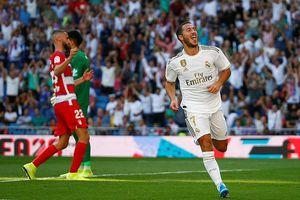 Hazard, James 'khai hỏa', Real đại thắng Granada tại Bernabeu