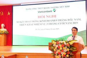 Vietcombank 9 tháng lợi nhuận đạt 85,8% kế hoạch năm 2019