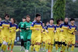 Tập trung đội tuyển bóng đá nữ Việt Nam
