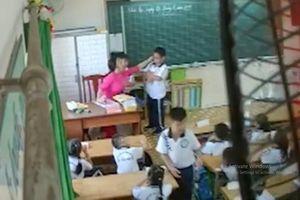 Xem xét đuổi ra khỏi ngành giáo viên đánh, véo tai học sinh ở quận Tân Phú