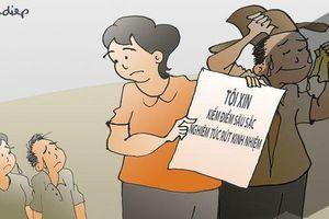 Điểm nhấn giáo dục: Vì sao vợ ông Triệu Tài Vinh bị kiểm điểm?