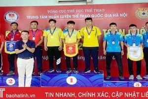 Hà Tĩnh giành 3 huy chương tại Giải vô địch bắn súng toàn quốc 2019