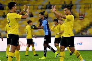 Malaysia chạy đà cho trận gặp Việt Nam bằng chiến thắng hủy diệt