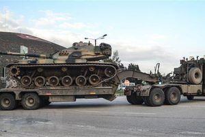 Thổ Nhĩ Kỳ điều quân tăng viện đến khu vực biên giới với Syria