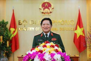 Quân ủy Trung ương gặp mặt các đại biểu Quân đội dự Hội nghị Trung ương 11