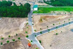 Công an phong tỏa hàng trăm lô đất của Công ty Alibaba