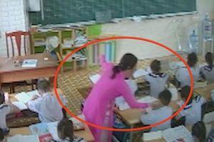 Cô giáo nhận sai khi đánh học trò, nhưng thắc mắc 'có phải phụ huynh gắn camera hay không?'