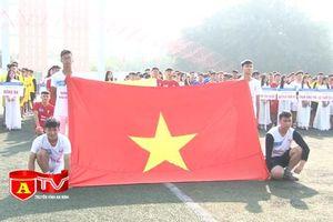 Sôi nổi tranh tài giải bóng đá học sinh THPT Hà Nội - Báo ANTĐ lần thứ 19