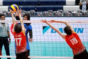 Bóng chuyền nữ thất bại tại ASEAN Grand Prix