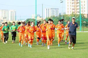 U19 nữ chuẩn bị cho VCK U19 châu Á 2019
