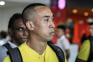 Tiền đạo Malaysia đến Việt Nam với kiểu tóc mới