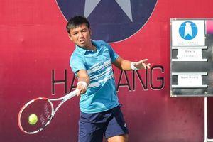 Lý Hoàng Nam giành ngôi á quân giải quần vợt quốc tế ở Tây Ninh