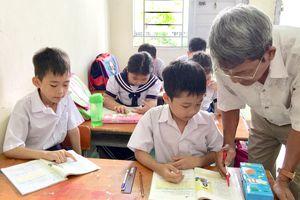 Lớp xóa mù chữ cho trẻ cơ nhỡ