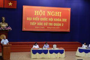 Đề nghị Thanh tra Chính phủ báo cáo với Quốc hội về Khu đô thị mới Thủ Thiêm