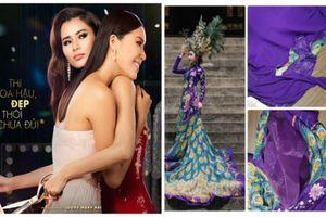 Cắt váy, giấu đồ và loạt trò sốc hậu trường thi hoa hậu