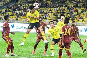 Tiền đạo Malaysia: 'Chúng tôi khát khao thắng Việt Nam'