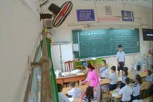 Tranh cãi ai đã lắp camera theo dõi giáo viên Trường tiểu học Phan Chu Trinh