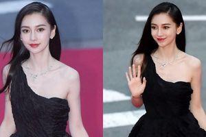Angela Baby như 'tiên giáng trần' tại thảm đỏ Liên hoan phim Busan