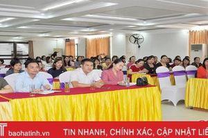 Học viện Phụ nữ Việt Nam bồi dưỡng nghiệp vụ cho 220 cán bộ Hội LHPN Hà Tĩnh