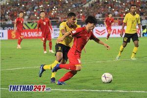 'Sốc' với tỉ lệ thắng của Việt Nam trước Malaysia khi có Công Phượng