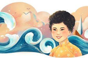 Nhà thơ Xuân Quỳnh là nữ sĩ đầu tiên của Việt Nam được Google vinh danh