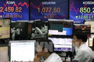 Chứng khoán châu Á diễn biến trái chiều phiên giao dịch đầu tuần