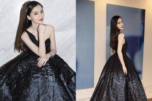 Nữ thần thảm đỏ Angelababy tỏa sáng trong bộ váy Dior kén dáng