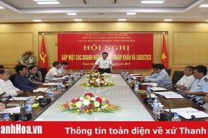 Tháo gỡ khó khăn cho hoạt động xuất nhập khẩu và dịch vụ logistics qua Cảng Nghi Sơn