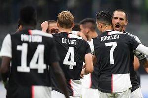 Đánh bại Inter Milan, Juventus soán ngôi đầu Serie A