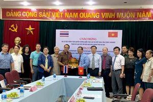 Hội Nhà báo Hà Nội tiếp ngài Đại sứ đặc mệnh toàn quyền Vương quốc Thái Lan tại Việt Nam